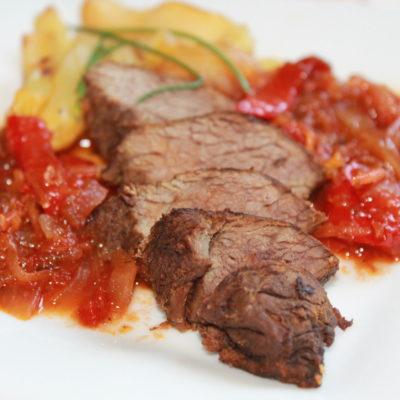 Friptură de cangur/ Kangaroo Steaks