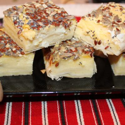 Plăcintă cu brânză și griș