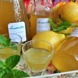 Limoncello - Lichior din coajă de lămâie