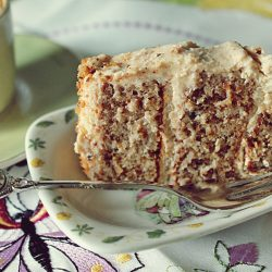 Prăjitură cu foi din albușuri și cremă de brânză